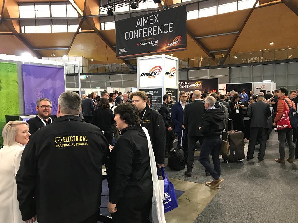 INTERkrąż na targach AIMEX 2019 - zwiedzający