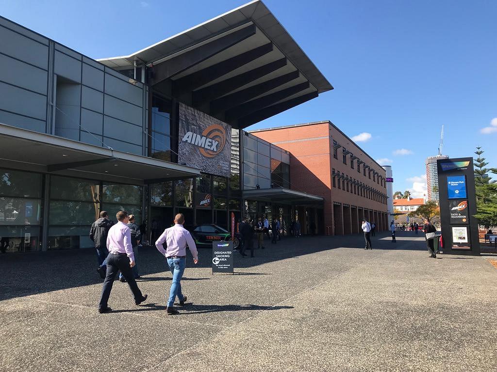 INTERkrąż na targach AIMEX 2019 - Sydney